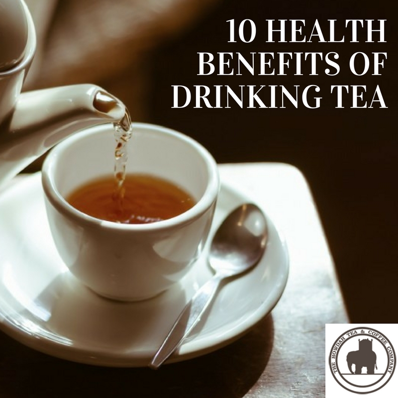 Ten health benefits of tea