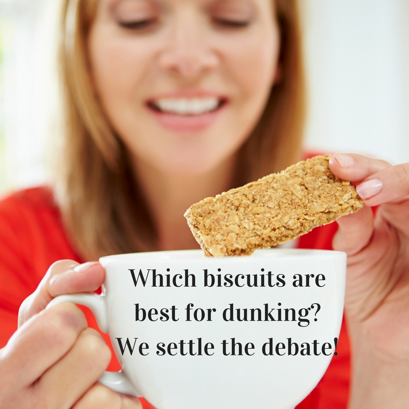 Which biscuits are best for dunking? We settle the debate!